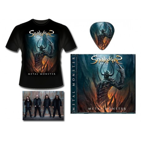 METAL PACK (CD + T-SHIRT + SIGNED POSTCARD)