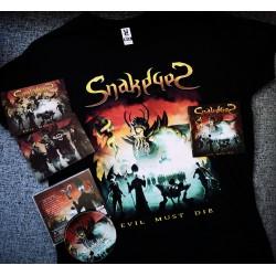Evil Must Die CD + T-Shirt