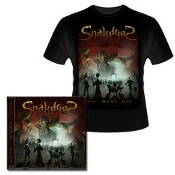Evil Must Die CD + Camiseta