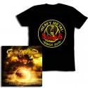 Pack CD Playing with Armageddon + Cobra T-Shirt