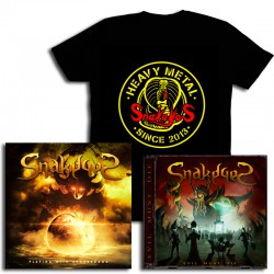 Pack CD Playing with Armageddon  + Evil Must Die + Camiseta Cobra