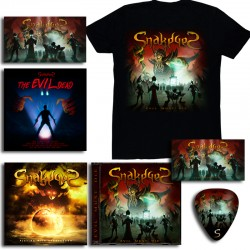 "Mega Pack CD Playing with Armageddon  + Evil Must Die + Camiseta ""Evil Must Die"""