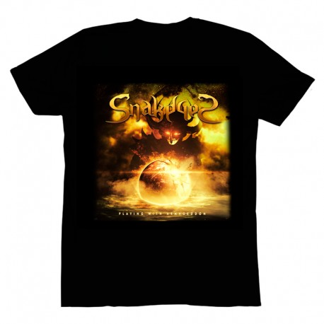 Pack CD Playing with Armageddon + T-Shirt